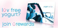 Love free yogurt? Join u-rewards