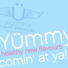 Yummy healthy new flavours coming at you!