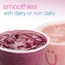 Smoothies - with dairy or non-dairy