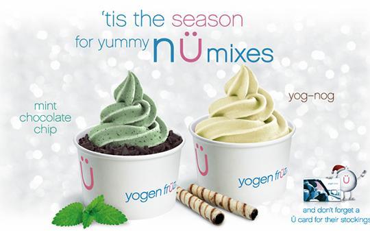 Mint Chocolate Chip | Yogen Früz | Frozen Yogurt & Smoothies