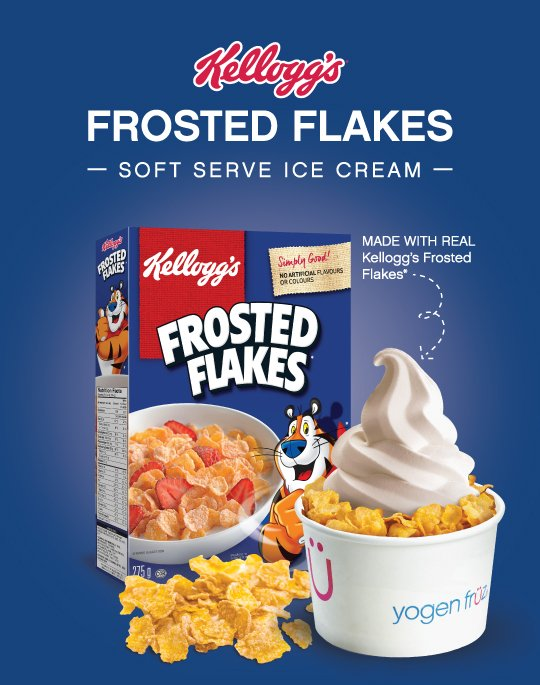 Kellogg's® Frosted Flakes Ice Cream