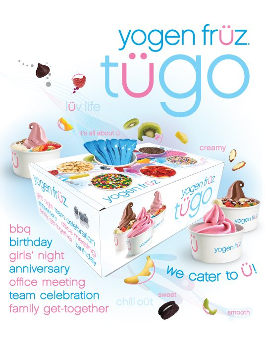 Yogen Fruz - To go catering