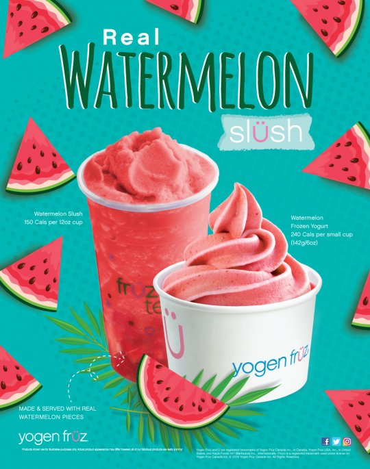 Watermelon Slush and Mix-it