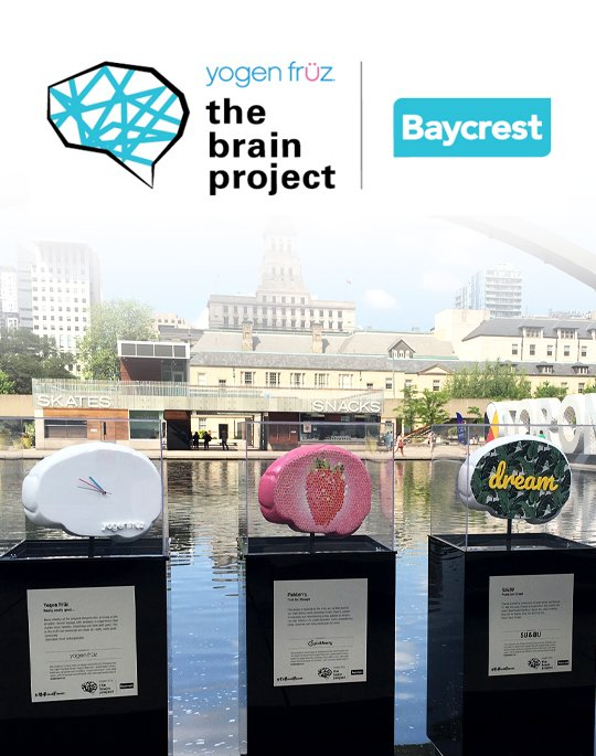 The Yogen Früz Brain Project 2019 in support of Baycrest