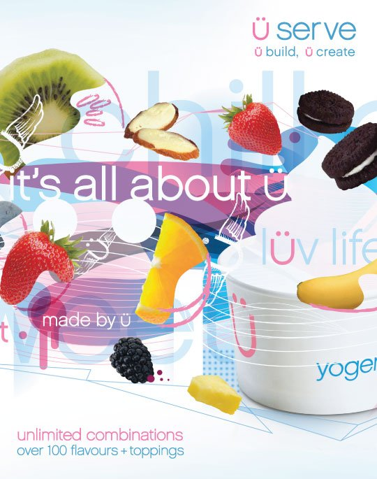 It's all about you - unlimited combinations - Over 100 flavours and toppings