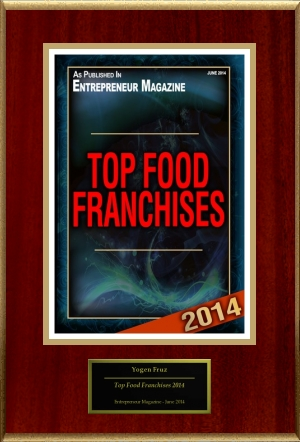 2014 - Top Food Franchises 2014