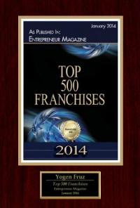2014 - Top 500 Franchises
