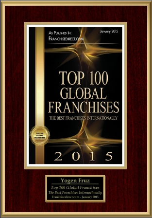 2015 - Top 100 Global Franchises - The Best Franchises Internationally