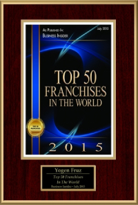 2015 - Top 50 Franchises In The World