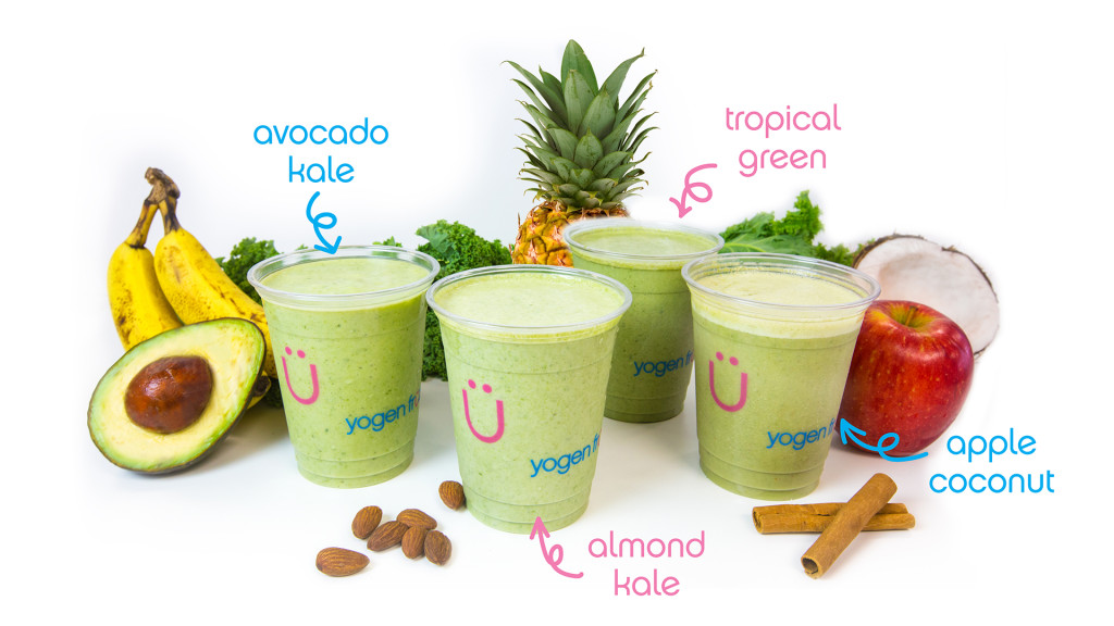 Yogen Fruz Green Smoothies
