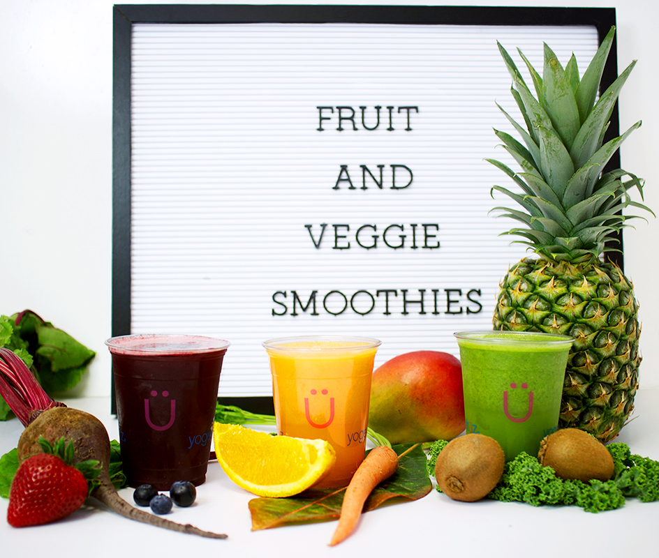 YF- fruit and veggie smoothies