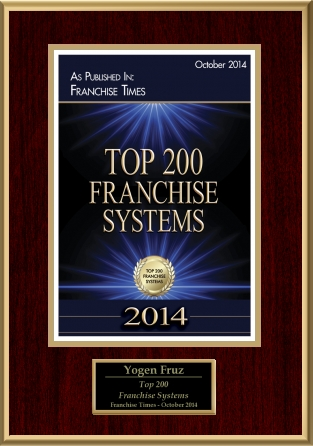 2014 - Top 200 Franchise System