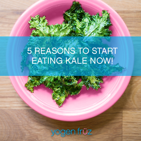 5 Reasons to start eating Kale now